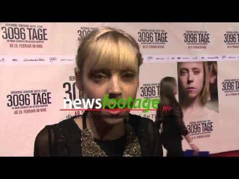 """""""3096 Tage"""" Natascha Kampusch Movie Premiere"""