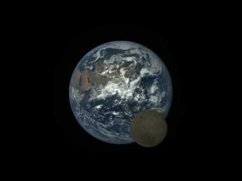 LA TERRA VISTA DAL SATELLITE DEEP SPACE CLIMATE OBSERVATORY (DSCOVR)