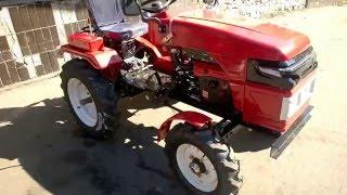 видео трактор форте