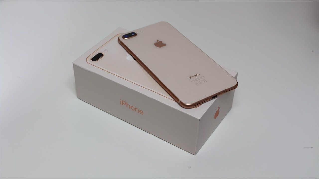 Apple Iphone 8 Plus Gold Unboxing Hd Youtube