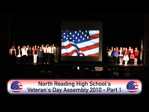 North Reading High School's Veteran's Day Assembly 2010 Part 1 - NORCAM