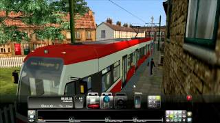RailWorks 3 Train Simulator 2012 Nice Tram Good Route Tram 2546 Croydon Tramlink