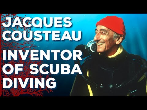 Jacques Cousteau The Inventor of Scuba Diving