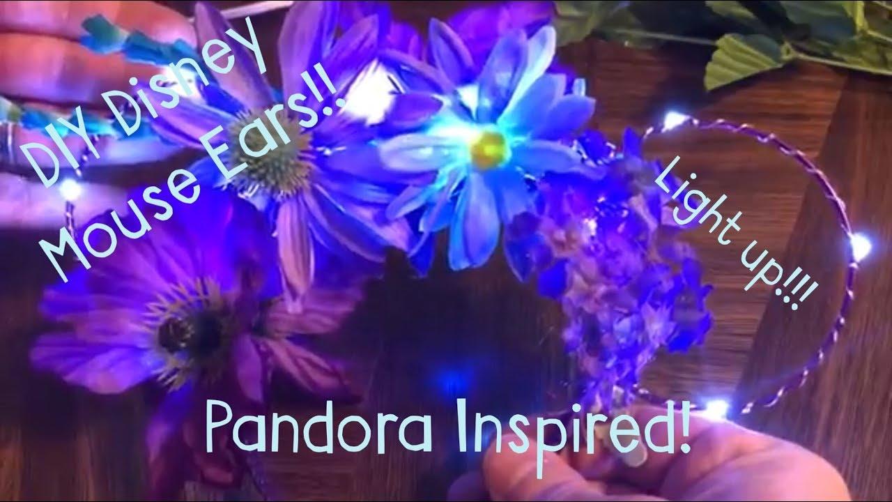Diy Light Up Disney Mouse Ears Youtube