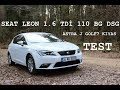 Seat Leon 1.6 TDi 110 BG DSG Style TEST||Astra J-GOLF 7 İle Kıyas