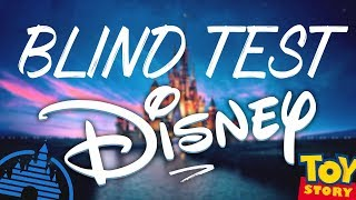 LE BLIND TEST DISNEY! (40 TITRES)