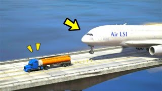 这飞机是什么情况,人命关天,快停下来啊!