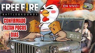 🔴 Free Fire - Battlegrounds - Confirmado Faltan Pocos Días Para la Actualización - Armando Equipos