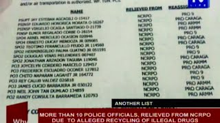 PNP chief confirms existence of another list of generals involved in illegal drugs
