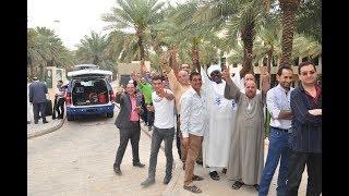 شاهد.. توافد المصريين بالكويت على اللجان للمشاركة في الانتخابات الرئاسية