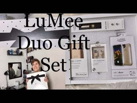 LuMee DUO Gift Set Unboxing & Review | GeorgesDistrict |
