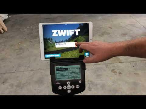 Pairing a Wattbike Pro with Zwift