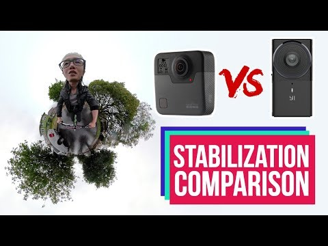 [Updated] GoPro Fusion vs Yi 360 VR Stabilization Review