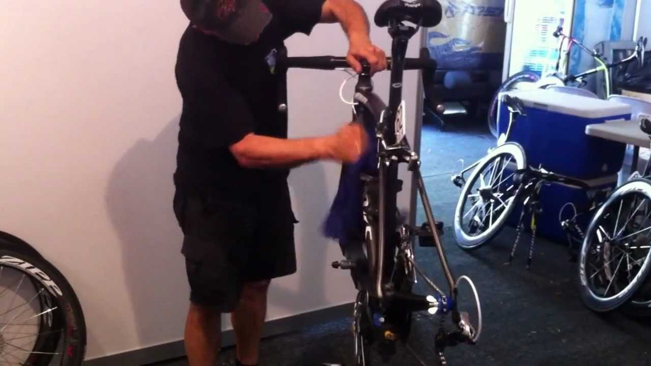 how to properly clean a bike