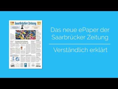 Das neue ePaper der Saarbrücker Zeitung