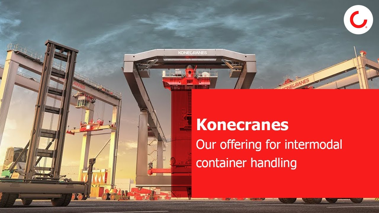 Konecranes widest offering for intermodal container handling