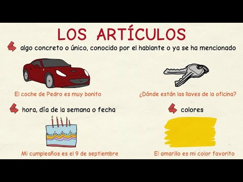 Aprender Español: Uso De Los Artículos (nivel Básico)
