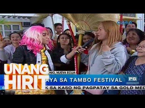 Unang Hirit: Tambo Festival ng San Antonio, Nueva Ecija, dinayo ng 'Unang Hirit'