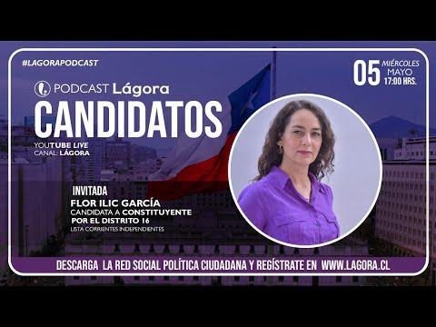 PODCAST LÁGORA | Flor Ilic | Candidata Constituyente Distrtito 16