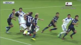 2016YBCルヴァンカップ準決勝第1戦 ガンバ大阪×横浜F・マリノスのハイラ...