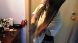покраска волос омбре(видео о том, как я в домашних условиях сделала себе обалденный эффект ombre., 2013-06-09T09:56:29.000Z)