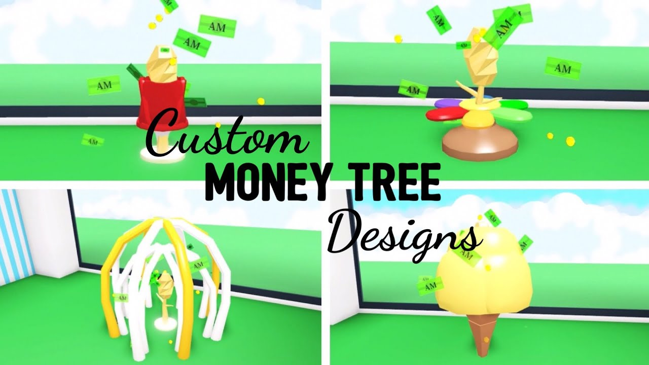 6 Custom MONEY TREE Design Ideas & Building Hacks (Roblox Adopt me) | Its  SugarCoffee