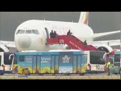 Co pilot hijacks Ethiopian Airlines aircraft   Europe   Al Jazeera English