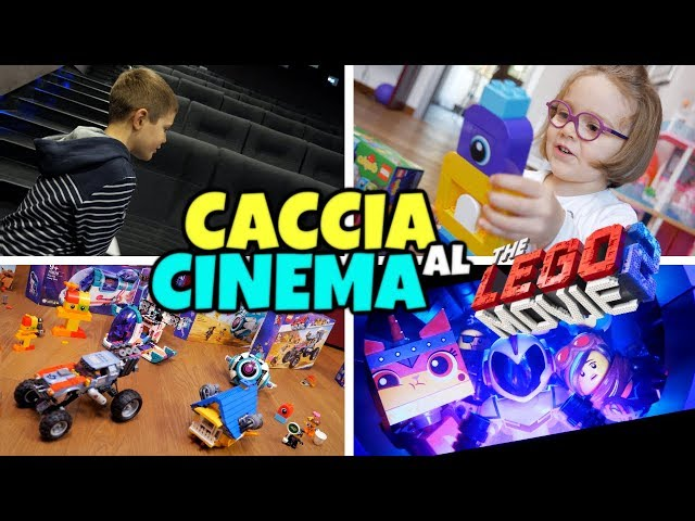 CACCIA AL CINEMA con THE LEGO MOVIE 2: Sorprese Meravigliose