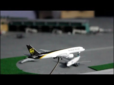 1:400 scale model airport update #4 of Albany international airport