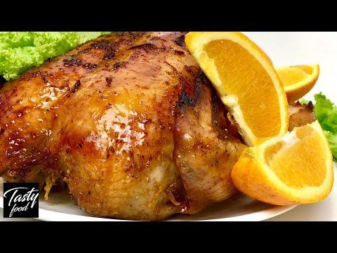 Курица с Апельсинами, с Карамельно-хрустящей Корочкой! Очень Празднично и По-новогоднему Вкусно!