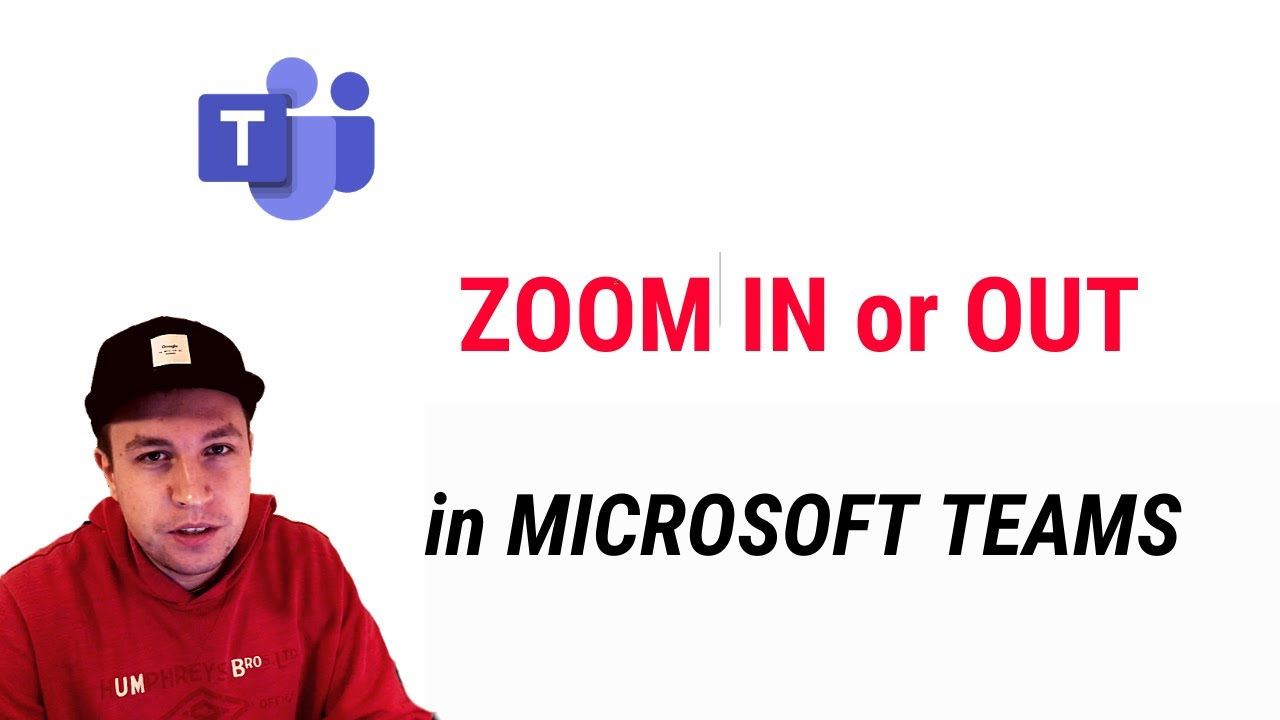 How to ZOOM IN or OUT in MICROSOFT TEAMS?