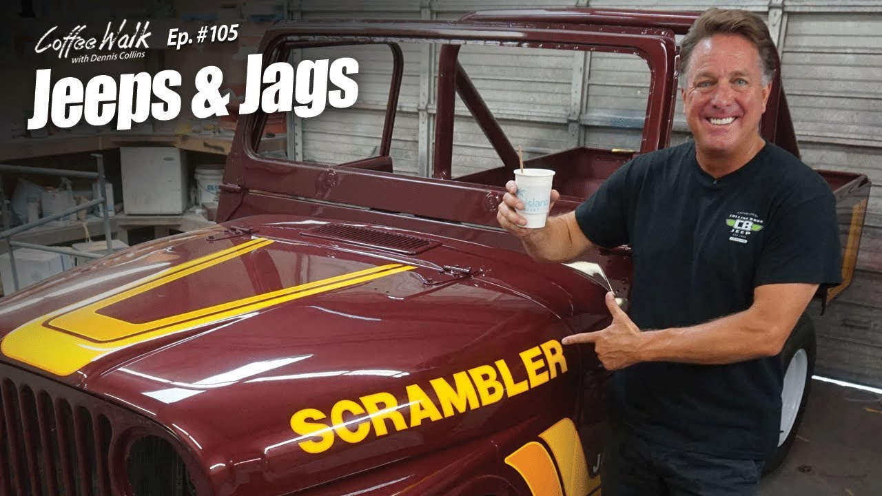 Coffee Walk Ep. 105: JEEPS & JAGS