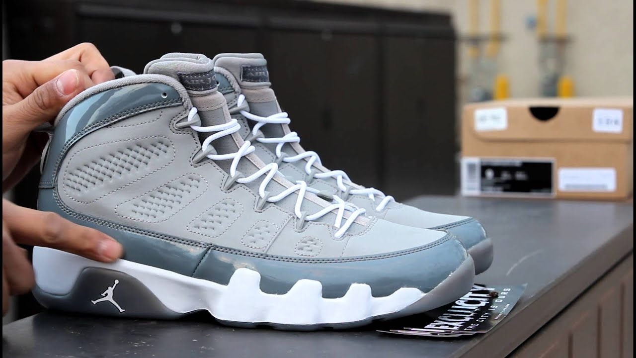 air jordan retro 9 cool grey