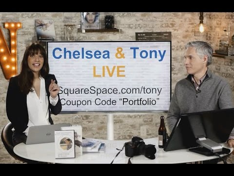 Tony & Chelsea LIVE: Instant Sports Photo & Portfolio Reviews!