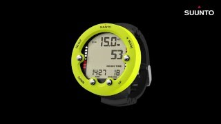 Suunto Zoop Novo - How to set up Nitrox mode and Nitrox gas