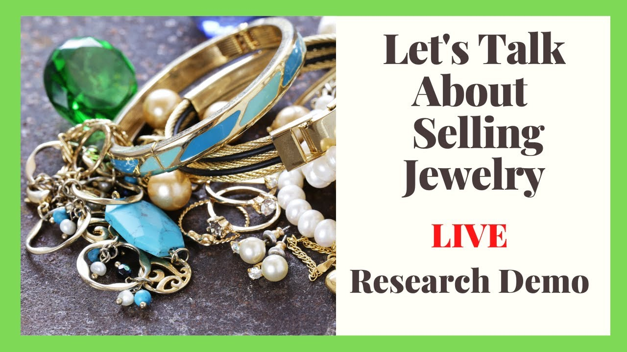 Let's Talk About Selling Jewelry on Ebay - LIVE SHOW ...