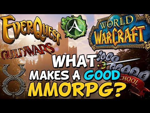 What Makes A Good MMORPG?