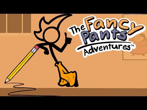 DESENHO COM VIDA !! - THE FANCY PANTS ADVENTURES