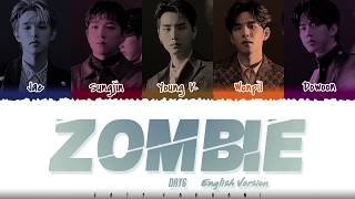 Gambar cover DAY6  – 'ZOMBIE' (ENGLISH VERSION) [Color Coded_Eng]