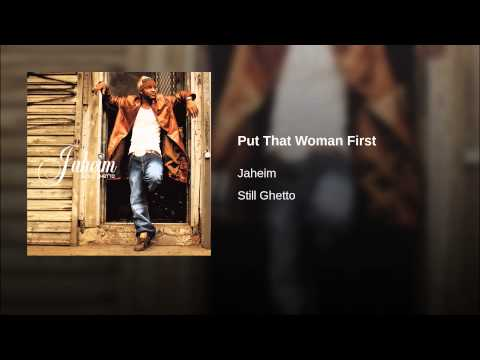 Put That Woman First
