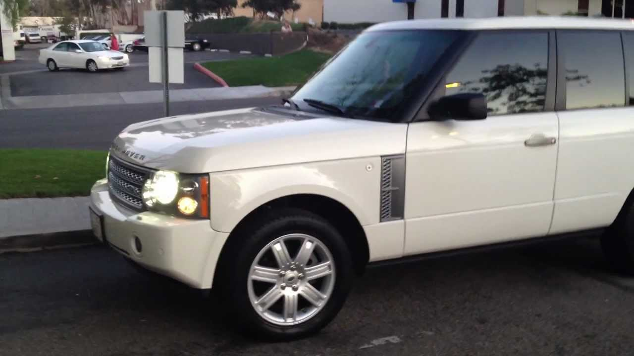 2006 range rover hse youtube. Black Bedroom Furniture Sets. Home Design Ideas