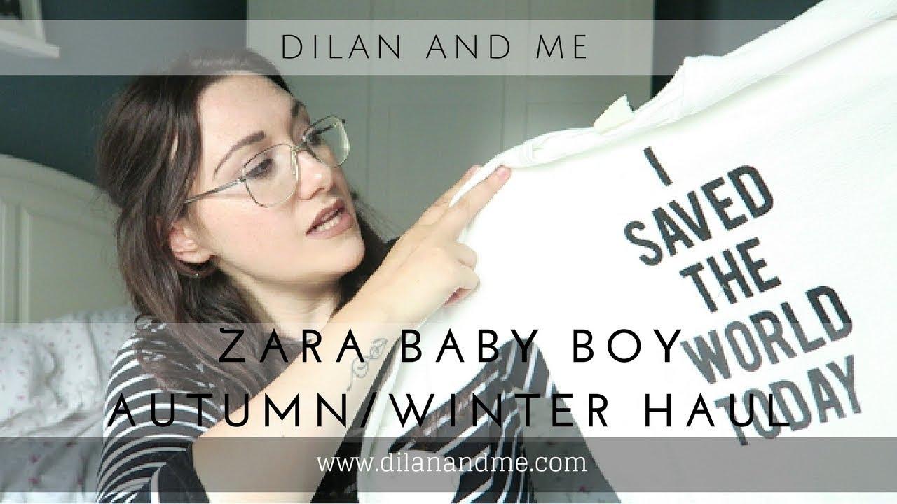 2c3630a34 Zara Kids Haul - Baby Boy Autumn/Winter - September 2017 - Dilan and ...