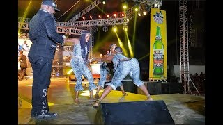 Download Video LOL! Shina Peters calls out female dancers for Ukwu shaking Competition At ARIYA REPETE 2018 MP3 3GP MP4