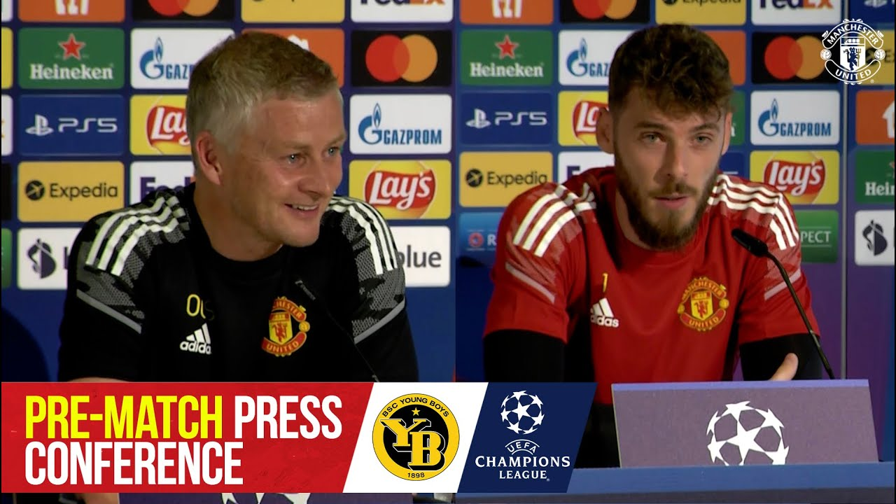 Pre-Match Press Conference |  Young Boys – Manchester United |  UEFA Champions League – Manchester United