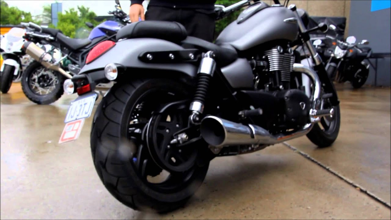 Triumph Thunderbird Storm Youtube