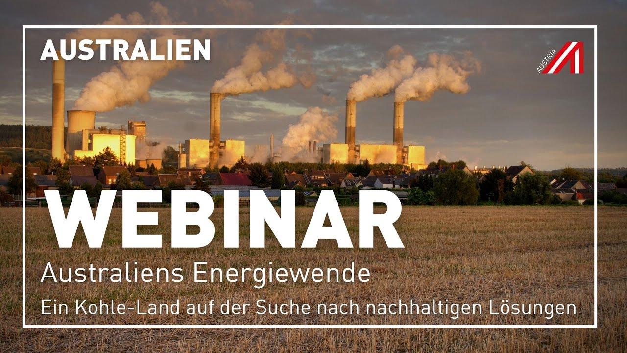 Download Webinar | AUSTRALIEN | Australiens Energiewende | 23.09.2021