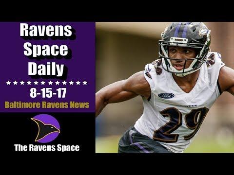 Humphrey to Make Debut  8-15-17  Baltimore Ravens News