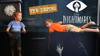 Granny Loves Little Kids in the Water!  Little Nightmares DLC The Depths Twin Toys Kids Jumpscare