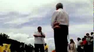 mensaje AMLO Y EL PRESIDENTE MUNICIPAL DE FELIPE CARRILLO PUERTO MORENA
