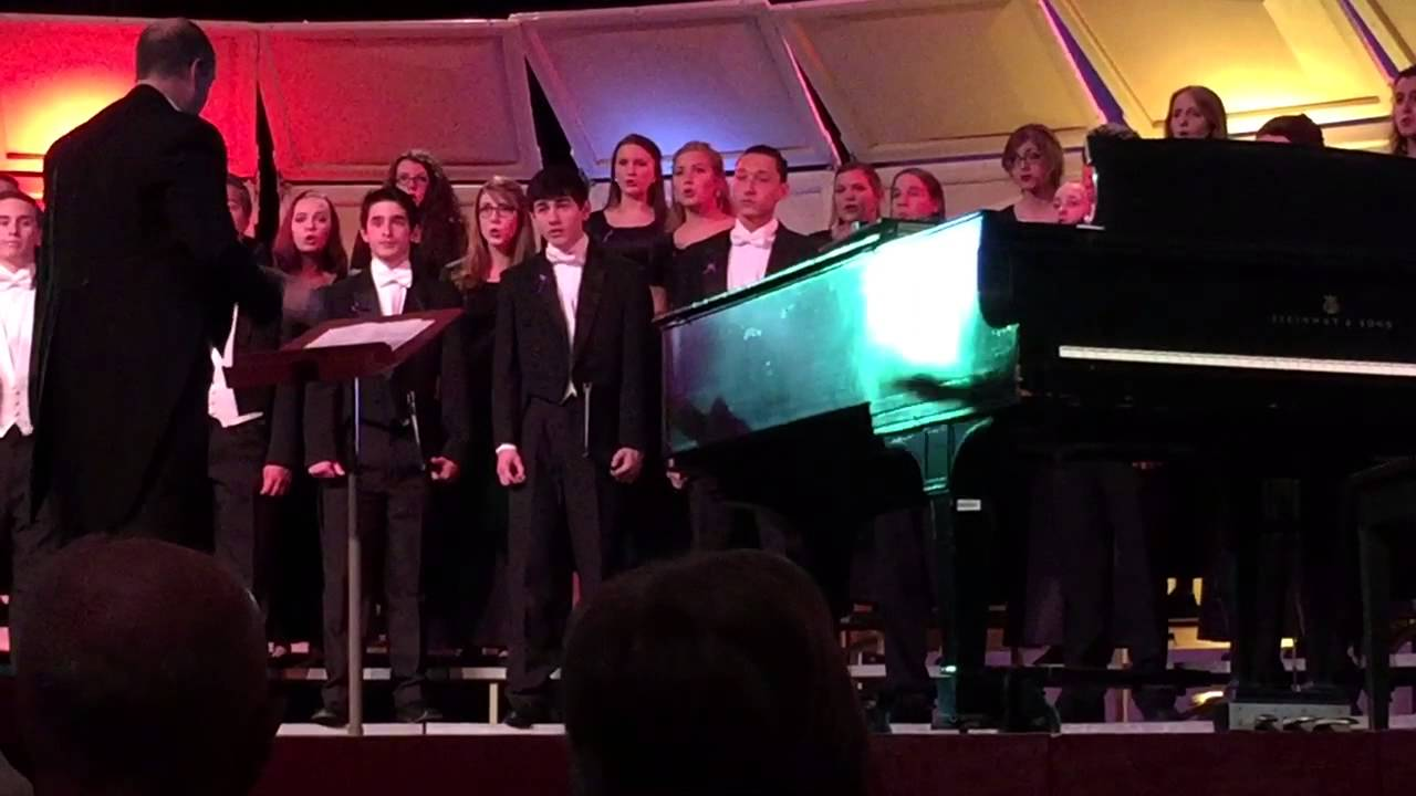 Battle of Jericho- Munster High School Chorale